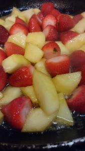 pommes-fraises
